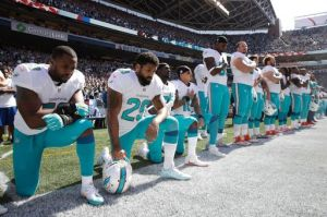 Arian Foster, Dolphins, NFL, protest, National Anthem