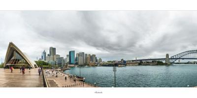 The Sydney Harbor in Australia